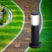 Stalp Iluminat Exterior LED 3.5W Lumina Neutra IP55 40 cm Negru