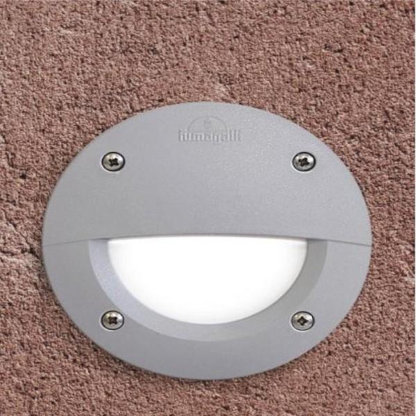 Spot LED incastrat pentru Scari 3W Lumina Neutra IP55 Gri