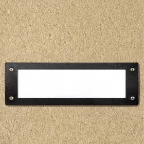 Spot LED incastrat pentru Scari 1XE27 IP55 Negru