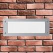 Spot LED incastrat Trepte 1XE27 IP55 Gri