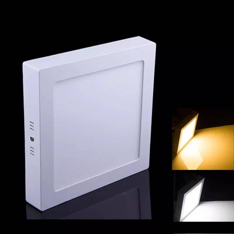 Spot LED Patrat Aplicat 18W