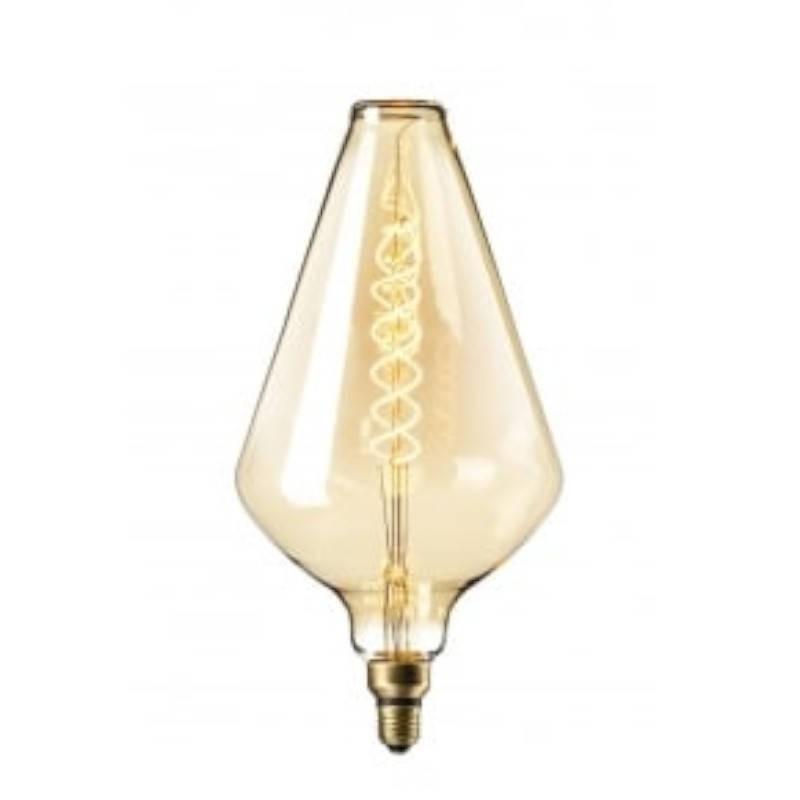Bec LED Vintage Dimabil 5W E27 D130 2800-3200K GOLDEN