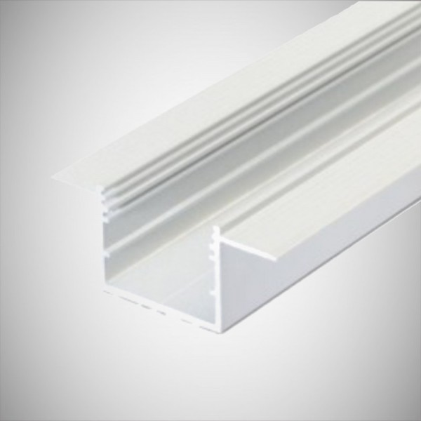 Profil LED Rigips Alb Fara rama exterioara 2m V3.5 Alb