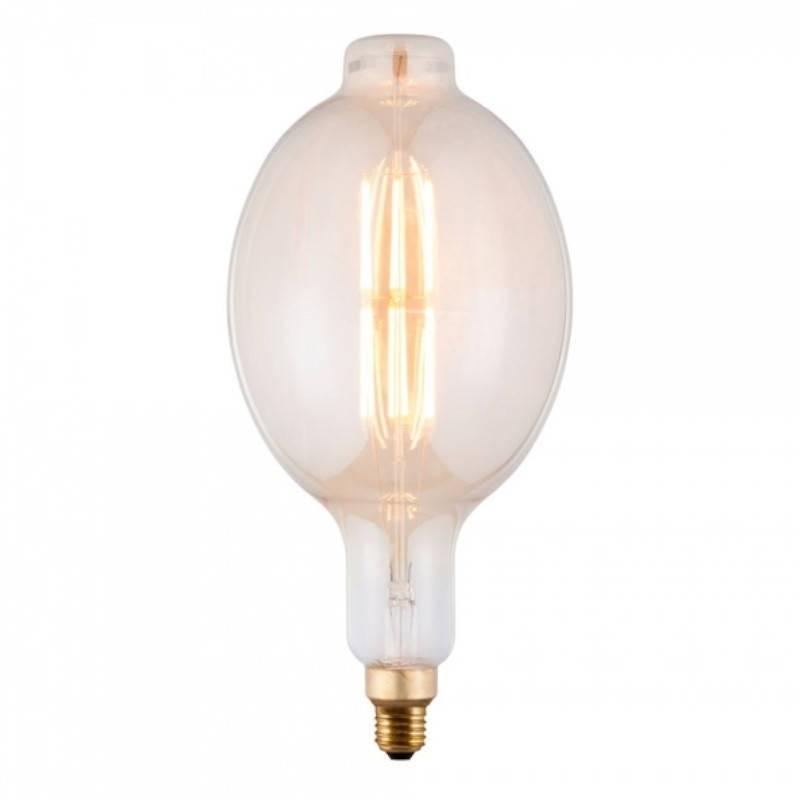 Bec LED Vintage Dimabil 5W E27 D180 2800-3200K Sticla Fumurie