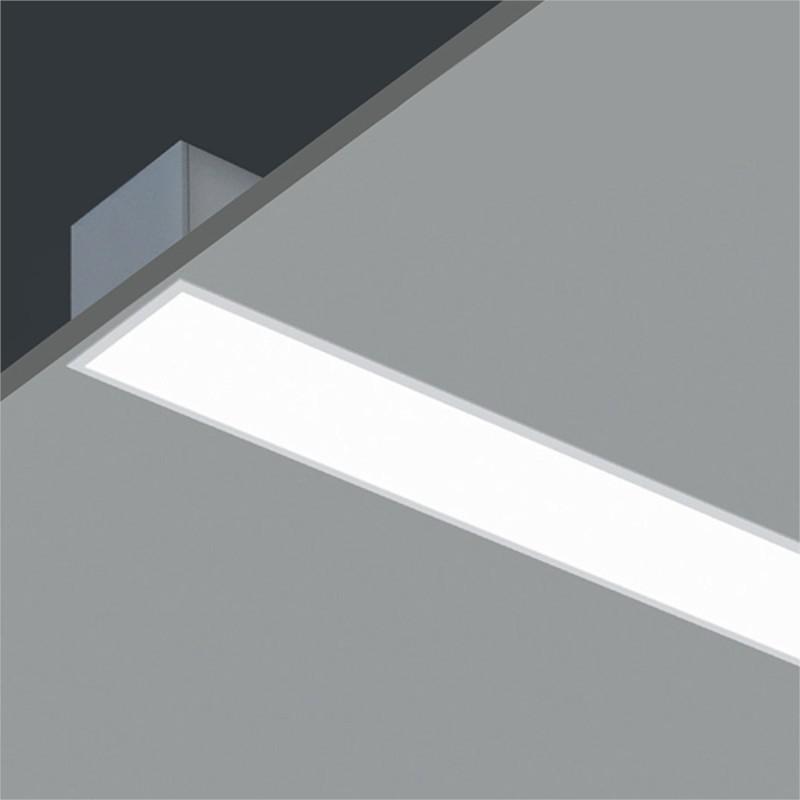 Profil LED Incastrat S4,8cm 24W 6500K 1200mm ALB