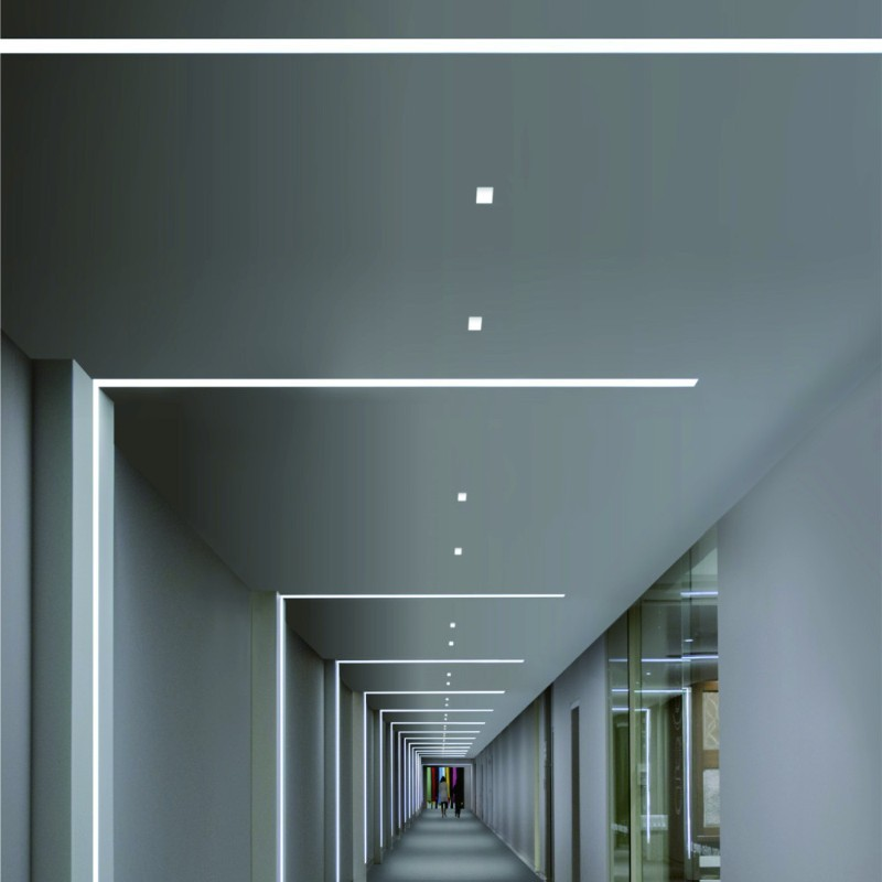 Profil LED Incastrat 24W 4000K 600mm ALB