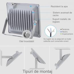 Proiector LED 50W cu senzor...