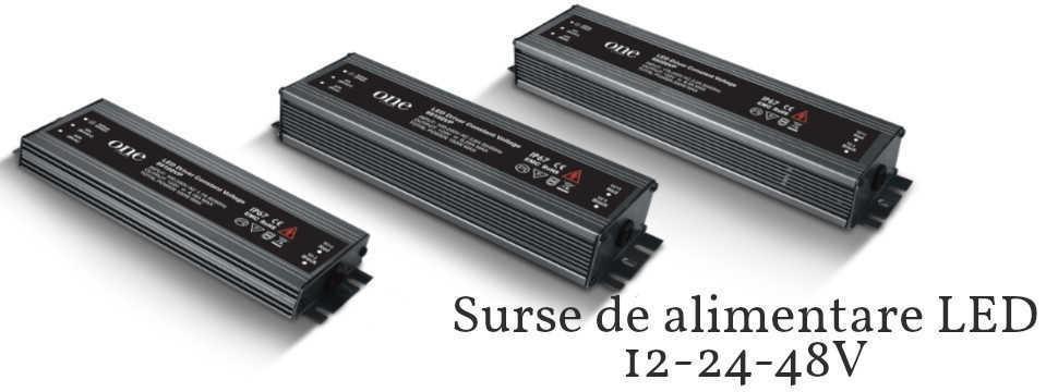 Surse de alimentare LED 12-24V