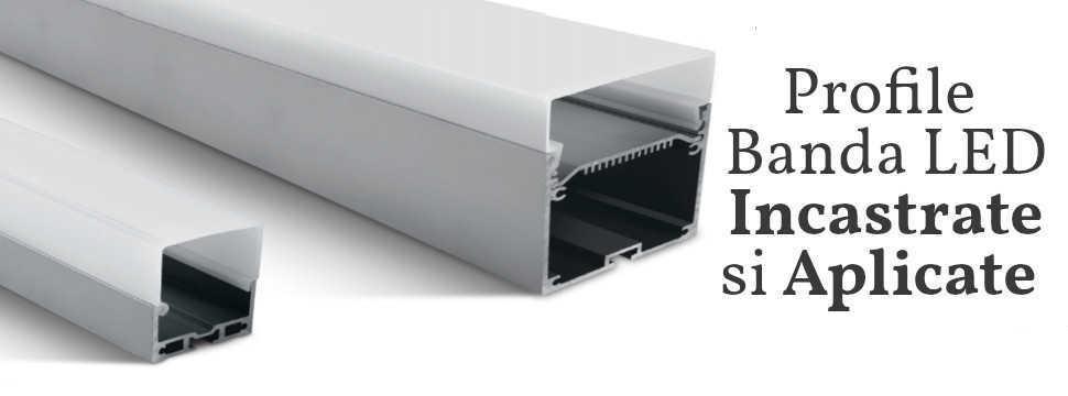 Profil din aluminiu banda LED