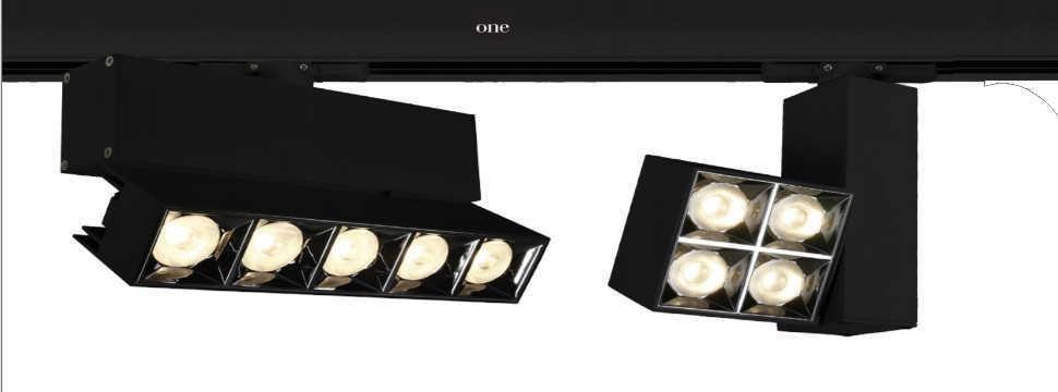 Spoturi LED pe sina cu 4 linii Modele 2021 peste 100 de modele