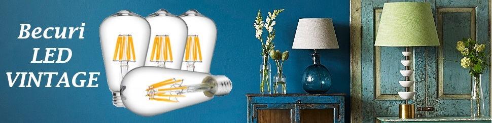 Iti doresti un Bec LED Vintage cu un design unicat? Vezi noile modele din colectia acestui an 2019!