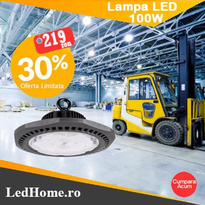 Lampa LED Industriala Iluminat industrial pret