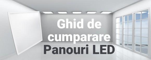 Ghid Cum sa alegi corect un panou LED 60x60cm sau 60x120cm?